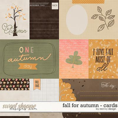Fall for Autumn - Cards by Red Ivy Design