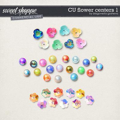 CU Flower Centers 1 by Blagovesta Gosheva