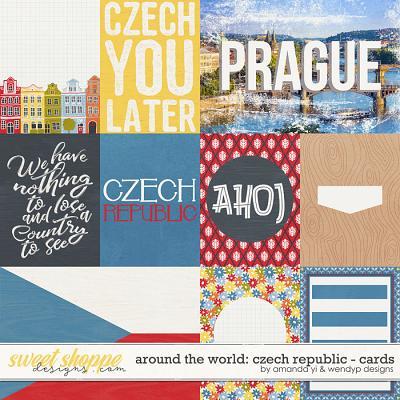 Around the world: Czech Republic - Cards by Amanda Yi & WendyP Designs