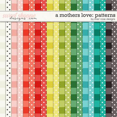 A Mothers Love Extra Papers by River Rose Designs