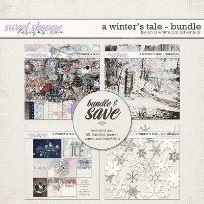 A Winter's Tale Bundle by On A Whimsical Adventure