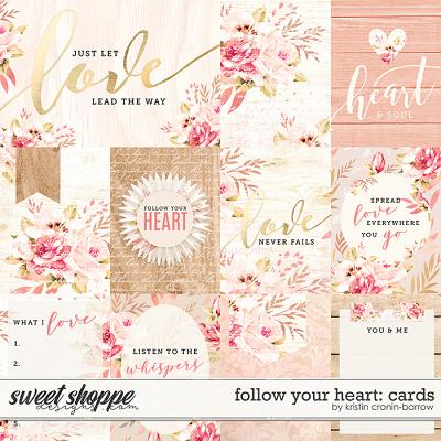 Follow Your Heart: Cards by Kristin Cronin-Barrow