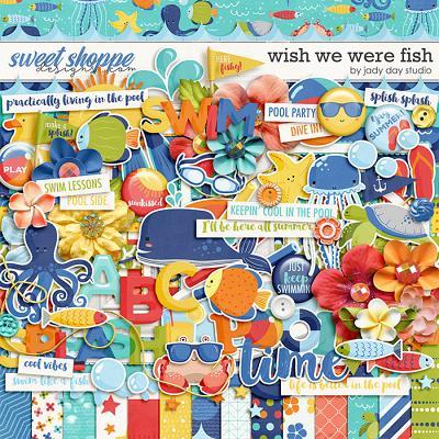Wish We Were Fish by Jady Day Studio