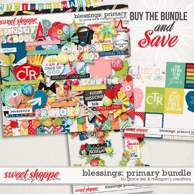 Blessings: Primary Bundle by Grace Lee and Meagan's Creations