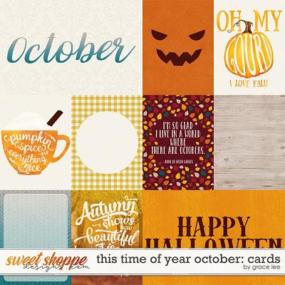 This Time of Year October: Cards by Grace Lee