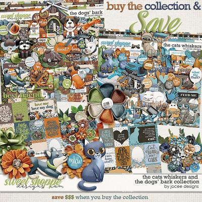 The Cats' Whiskers and The Dogs' Bark Collection by JoCee Designs