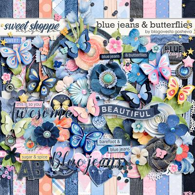 *FREE with your $10 Purchase* Blue Jeans & Butterflies by Blagovesta Gosheva