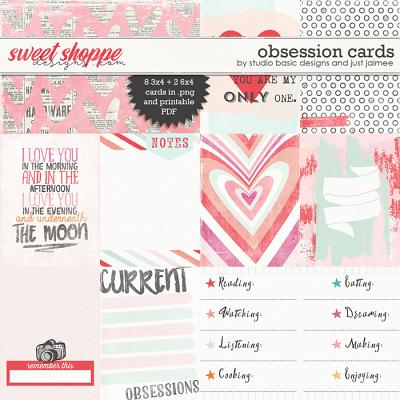 Obsession Cards by Studio Basic and Just Jaimee