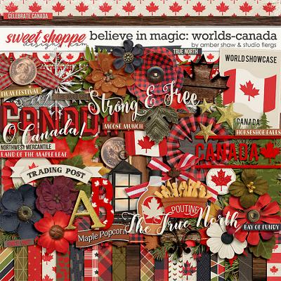 Belive in Magic: Worlds Canada by Amber Shaw & Studio Flergs