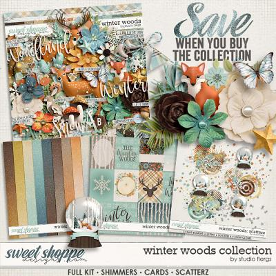 Winter Woods: COLLECTION & *FWP* by Studio Flergs