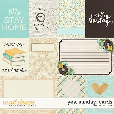 Yes, Sunday: Cards by Amber Shaw