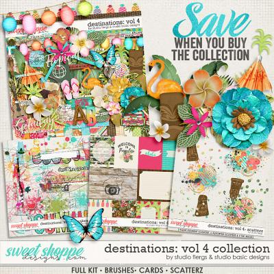 Destinations: Vol 4 - Bundle by Studio Basic and Studio Flergs