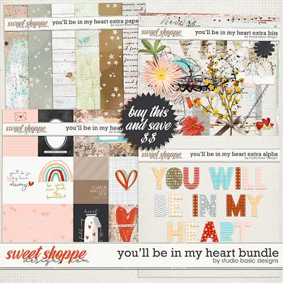 You'll Be In My Heart Bundle by Studio Basic