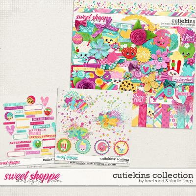 Cutiekins Collection by Traci Reed & Studio Flergs