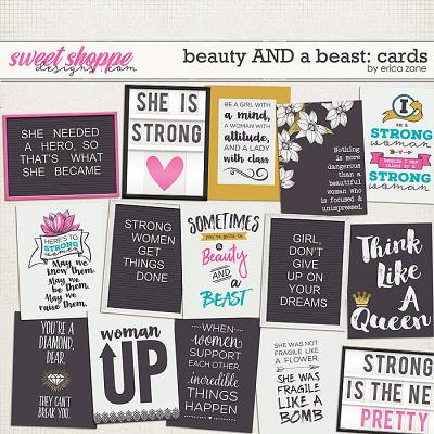 Beauty AND a Beast: Cards by Erica Zane