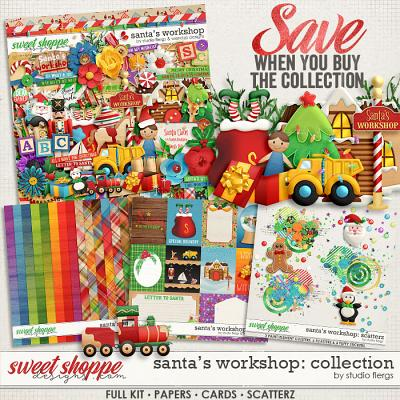 Santa's workshop - Bundle by Studio Flergs & WendyP Designs