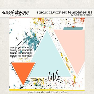 Studio Favorites: Templates #1 by Studio Basic