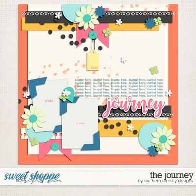 The Journey Layered Template by Southern Serenity Designs