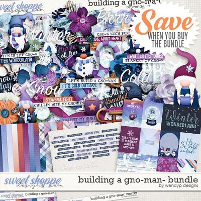 Building a gnome-man: Bundle by WendyP Designs