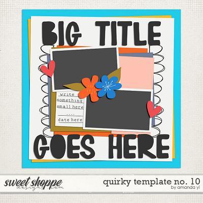 Quirky template no. 10 by Amanda Yi