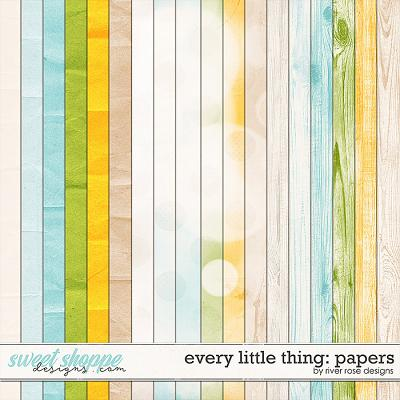 Every Little Thing: Papers by River Rose Designs