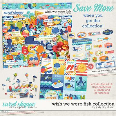 Wish We Were Fish Collection by Jady Day Studio