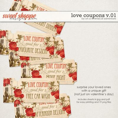 Love Coupons Vol01 by On A Whimsical Adventure