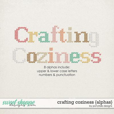 Crafting Coziness Alphas by Ponytails
