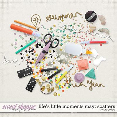 Life's Little Moments May Scatters by Grace Lee