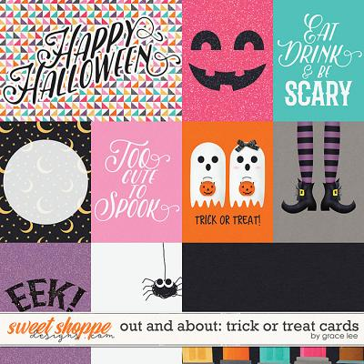 Out and About: Trick or Treat Cards by Grace Lee