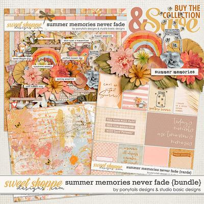 Summer Memories Never Fade Bundle by Ponytails Designs & Studio Basic
