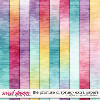 The Promise Of Spring | Extra Papers by Digital Scrapbook Ingredients