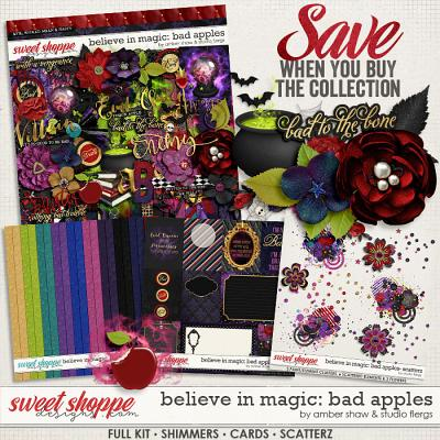 Believe in Magic: Bad Apples Collection Amber Shaw & Studio Flergs