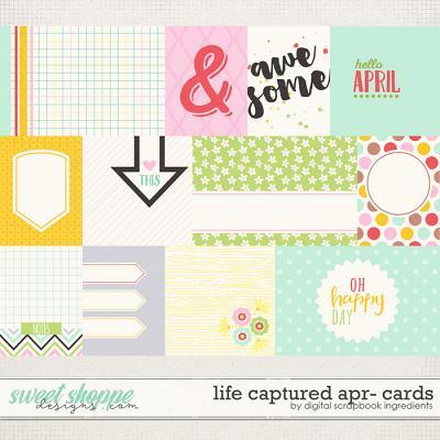 Life Captured April | Journal Cards by Digital Scrapbook Ingredients