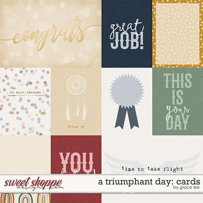 A Triumphant Day: Cards by Grace Lee