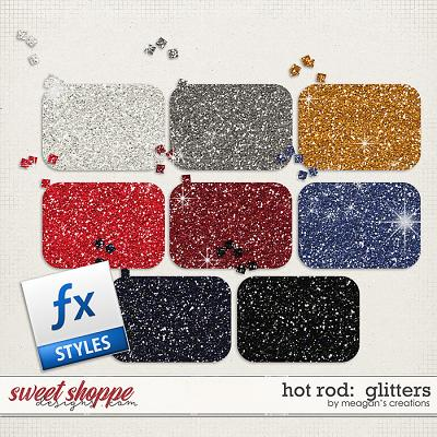 Hot Rod: Glitters by Meagan's Creations