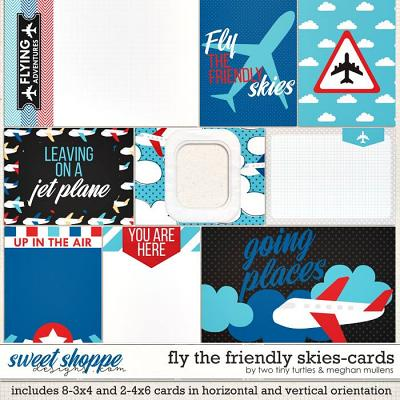 Fly The Friendly Skies :: Cards by Meghan Mullens & Two Tiny Turtles