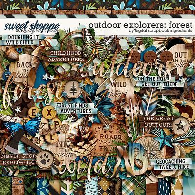 Outdoor Explorers: Forest by Digital Scrapbook Ingredients