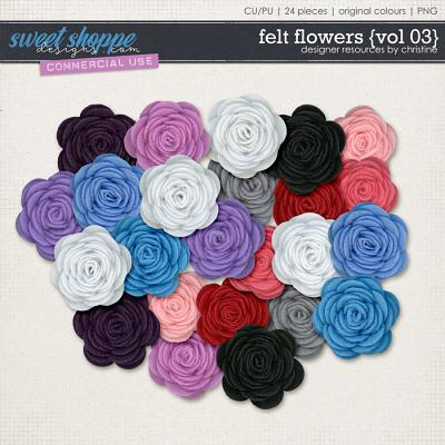 Felt Flowers {Vol 03} by Christine Mortimer