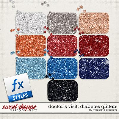 Doctor's Visit: Diabetes Glitters by Meagan's Creations