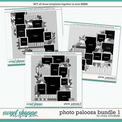 Cindy's Layered Templates - Photo Palooza Bundle 1 by Cindy Schneider