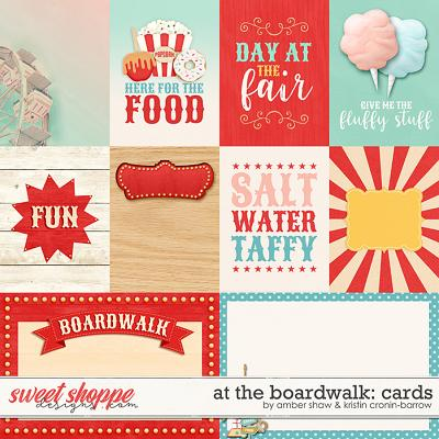 At the Boardwalk: Cards by Amber Shaw & Kristin Cronin-Barrow