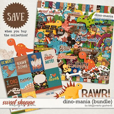 Dino-mania {bundle} by Blagovesta Gosheva