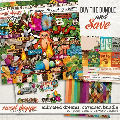 Animated Dream: cavemen - bundle by Meagan's Creations & WendyP Designs