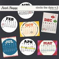 Circle the Date v.2 by Erica Zane