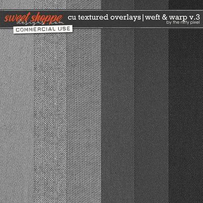 CU TEXTURED OVERLAYS | WEFT & WARP V.3 by The Nifty Pixel
