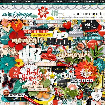 Best Moments Kit by Misty Cato, River Rose and Studio Basic