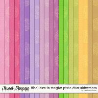 #believeinmagic: Pixie Dust Shimmers by Amber Shaw