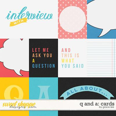 Q and A: Cards by Grace Lee