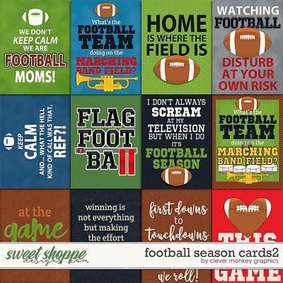 Football Season Cards 2 by Clever Monkey Graphics